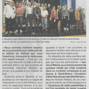Ouest-France - 13 juillet 2021