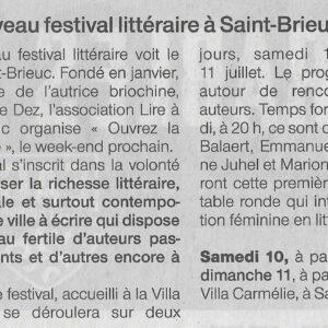 Ouest-France - 6 juin 2021